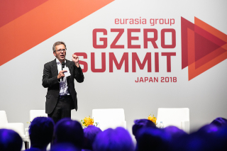 Ian Bremmer speaks at Eurasia Group's 2018 GZERO Summit in Japan.